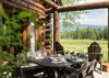 Patio - Grizzly Wulff Lodge - Jackson Hole Private Luxury Villa Rental