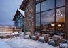 Back Patio - Fish Creek Lodge 08 - Teton Village, WY - Luxury Villa Rental