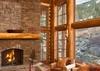 Great Room - Slopeside Apres Vous - Teton Village, WY Ski in/Ski out - Luxury Villa Rental