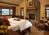 Master Bedroom - Shooting Star Cabin 16 - Teton Village Luxury Villa Rental