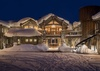 Front Exterior -  Lake Vista - Teton Village Luxury Private Villa Rental