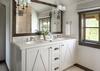 Guest Bedroom 2 Bathroom - Fish Creek Lodge 11 - Teton Village - Luxury Villa Rental