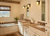 Master Bathroom - Shooting Star Cabin 16 - Teton Village Luxury Villa Rental