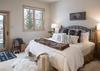 Master Bedroom -  Moose Creek 04 - Slopeside Cabin in Teton Village - Luxury Villa Rental
