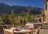 Patio - Shooting Star Cabin 08 - Teton Village Luxury Villa Rental
