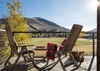Deck off Kitchen - Villa at May Park II - Jackson Hole, WY - Luxury Villa Rental
