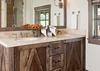 Guest Bedroom 2 Bathroom - Fish Creek Lodge 02 - Teton Village Luxury Cabin Rental