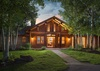 Front Exterior - Two Elk Lodge  - Jackson Hole, WY - Luxury Villa Rental