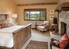 Master Bedroom - Shooting Star Cabin 03 - Teton Village Luxury Villa Rental