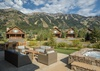 Patio - Fish Creek Lodge 63 - Teton Village, WY - Luxury Villa Rental