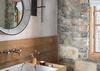 Powder Room - Summer Wind - Jackson WY - Luxury Villa Rental