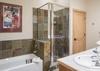Master Bathroom - Moose Creek 35 - Slopeside Cabin in Teton Village - Luxury Villa Rental