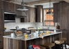 Kitchen - Four Pines 102 - Teton Village Luxury Villa Rental