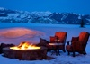 Fire Pit - Phillips Ridge - Jackson Hole Private Luxury Villa