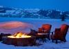 Fire Pit - Phillips Ridge - Jackson, WY - Luxury Villa Rental