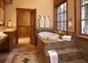 Upper Level Master Bathroom - Slopeside Apres Vous - Teton Village, WY Ski in/Ski out - Luxury Villa Rental