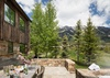Outdoor Dining - Shooting Star Cabin 02 - Teton Village - Luxury Villa Rental