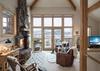 Great Room -  Moose Creek 04 - Slopeside Cabin in Teton Village - Luxury Villa Rental