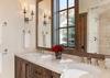 Guest Bedroom 1 Bathroom - Fish Creek Lodge 02 - Teton Village Luxury Cabin Rental