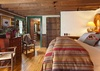Master Bedroom - The Cabin - Jackson Hole Luxury Cabin Rental