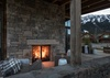 Outdoor Fireplace - Fish Creek Lodge 63 - Teton Village, WY - Luxury Villa Rental