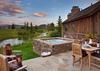 Hot Tub - Shooting Star Cabin 03 - Teton Village Luxury Villa Rental