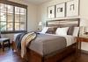 Guest Bedroom 1 - Fish Creek Lodge 02 - Teton Village Luxury Cabin Rental