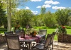 Patio - Shoshone Lodge - Jackson Hole Luxury Villa Rental