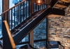 East Stairway -  Lake Vista - Teton Village Luxury Private Villa Rental