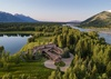 Aerial - Royal Wulff Lodge - Jackson Hole Private Luxury Villa Rental
