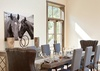 Dining - Fish Creek Lodge 02 - Teton Village Luxury Cabin Rental