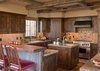 Kitchen-Shooting Star Luxury Cabin-Teton Village