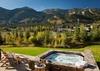 Hot Tub - Fish Creek Lodge 02 - Teton Village Luxury Cabin Rental