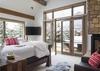 Main Level Master Bedroom - Four Pines 102 - Teton Village Luxury Villa Rental