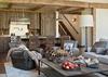 Great Room - Fish Creek Lodge 02 - Teton Village Luxury Cabin Rental