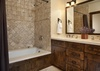 Guest Bathroom - Shooting Star Cabin 06 - Teton Village Luxury Villa Rental