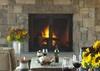 Fireplace - Shooting Star Cabin 06 - Teton Village Luxury Villa Rental