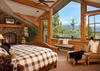 Master Bedroom - Riversong Lodge - Wilson WY Luxury Villa Rental