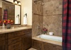 Guest Bathroom - Shooting Star Cabin 08 - Teton Village, WY - Luxury Villa Rental