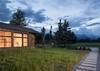 Teton Views at Night - Aspenglow - Jackson Hole, WY - Luxury Villa Rental