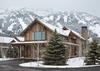 Front Exterior - Fish Creek Luxury Lodge 75 - Teton Village Luxury Villa Rental
