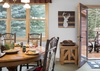 Dining - Moose Creek 35 - Slopeside Cabin in Teton Village, WY - Luxury Villa Rental