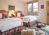 Guest Bedroom 1 - Moose Creek 35 - Slopeside Cabin in Teton Village - Luxury Villa Rental
