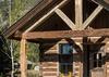 Front Door - Four Pines 07 - Teton Village, WY - Luxury Villa Rental