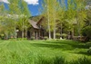Back Exterior - Shoshone Lodge - Jackson Hole Luxury Villa Rental