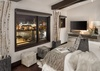 Master Bedroom - Pearl at Jackson 302 - Jackson Hole Luxury Villa Rental