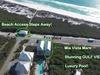 Aerial View of Mia Vista Mare - Effortless Beach Access