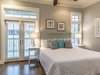 2nd Floor Master Suite - Featuring Access to a Private Balcony