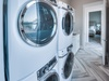 Laundry - Dual Front Loading Washer & Dryer