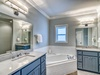 3rd Floor Master En Suite - Featuring a Soaking Tub and Walk-in Shower